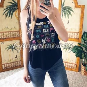 Graphic One Direction Fan Tank Top
